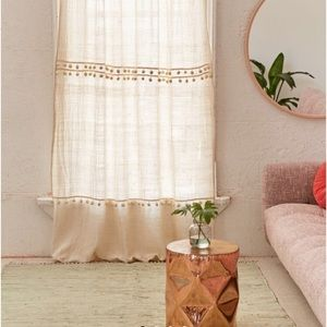 Urban Outfitters Averi gauze window curtain NWT